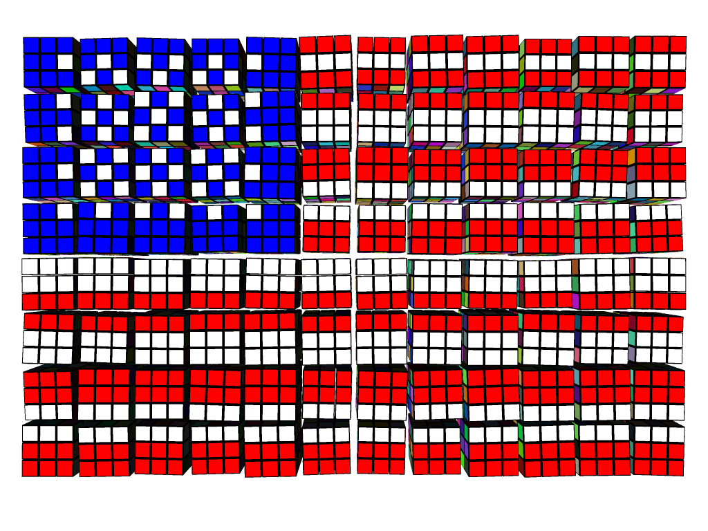 Cube Flag